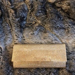 Gold Sparkly Clutch 👑✨